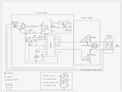How to make your own 600 1000 watts dc to ac modified sinewave how to make your own 600 1000 watts dc to ac modified sinewave inverter from an old ups cheapraybanclubmaster Images