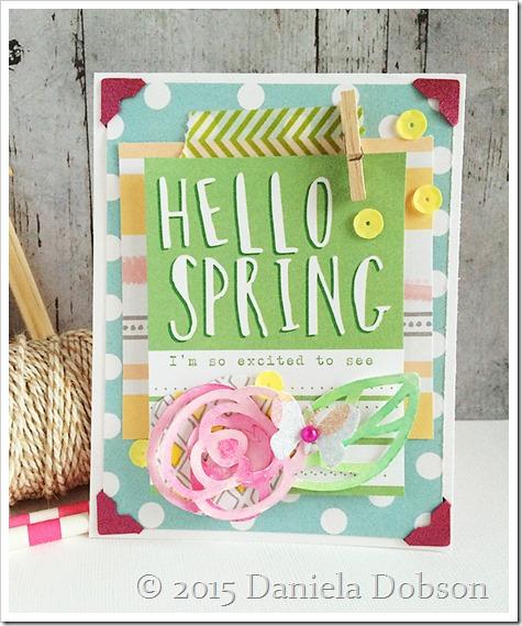 Hello spring by Daniela Dobson