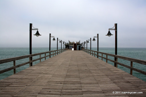 The fishing pier at Swakopmund