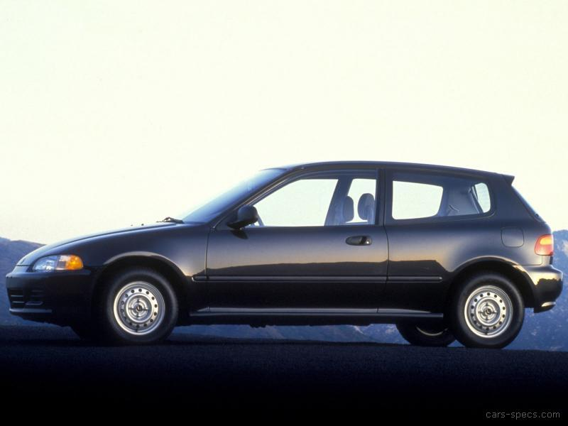 1992 honda civic hatchback specifications pictures prices