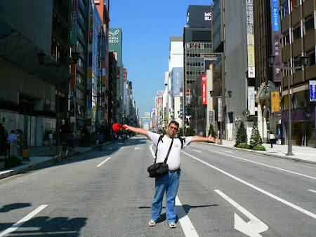 Ginza, cea mai scumpa strada din lume e in Tokyo
