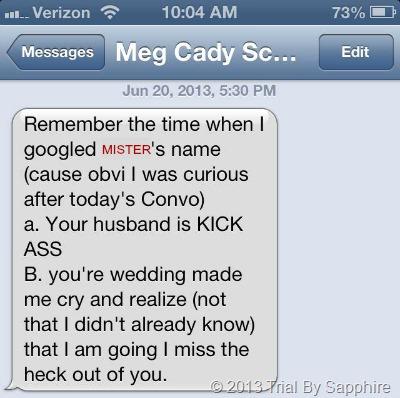 Meg's Text