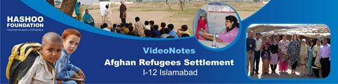 Banner Afghan Refugees Settlement I-12