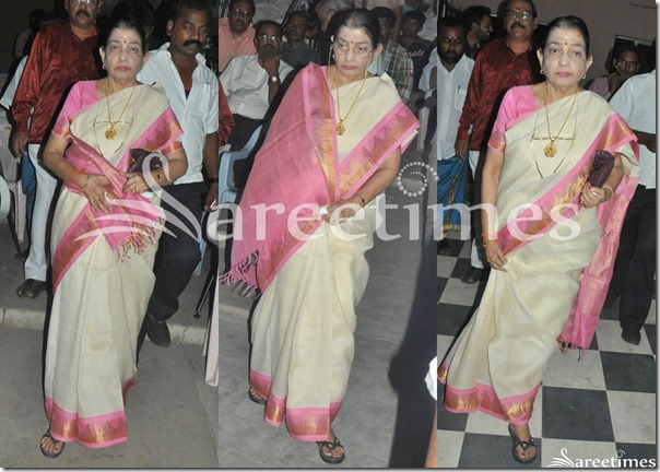 P.Suseela_Traditional_Saree