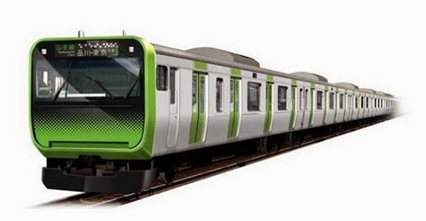 Os trens da linha Yamanote