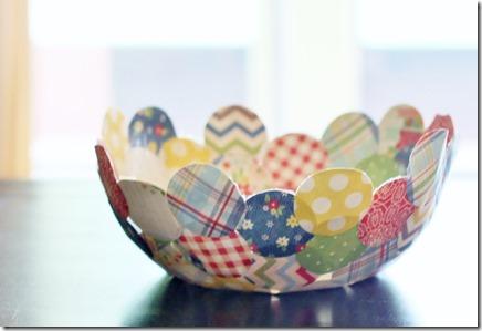 paper mache bowl 015