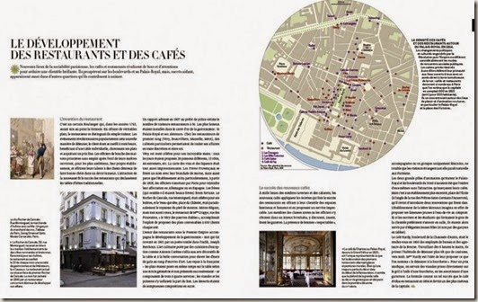 Le développement des cafés-restaurants au début du XIXe siècle