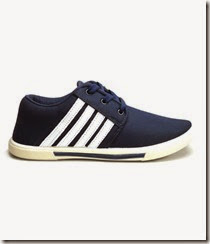 Buy FAST TRAX-H5-BW-704- Mens Canvas Shoes at Rs. 299 only