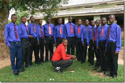Youth choir in Mutoto