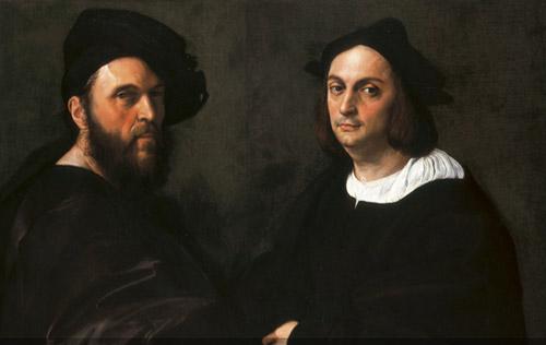 Raffaello ritratto di Navagero e di Beazzano