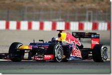 Vettel nei test di Barcellona 2012