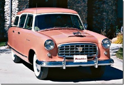 amazing car 09, 1955 Nash Rambler Cross Country Wagon