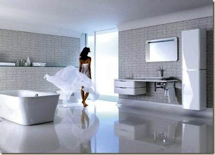 Baños Modernos con Tina8
