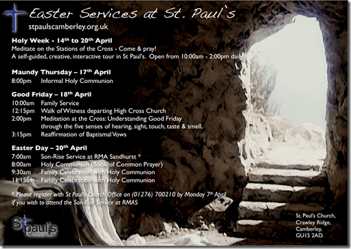 Easter 2014 At St Pauls Camberley