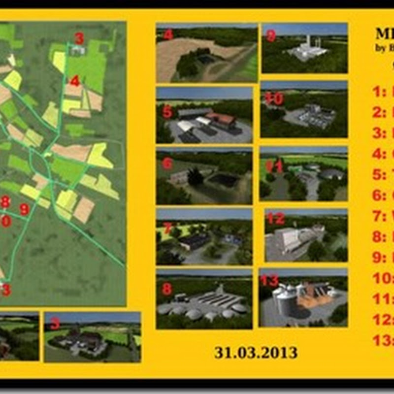 Farming simulator 2013 - MIG Map Made in Germany Celle Region