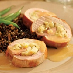 Apple Leek Pork Tenderloin
