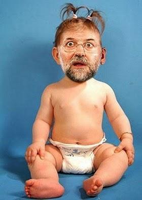 Rajoy niño