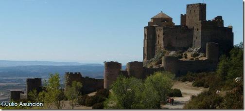 Castillo de Loarre - Vista general - Huesca
