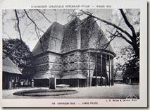 Exposition universelle de paris. Pavillon du Togo et du Cameroun