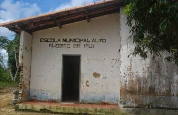 Escola Alto Alegre do Ipuí  nas gestões anteriores