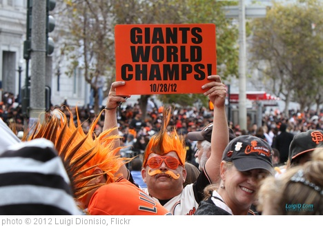 'Giants World Champs Sign 10/28/2012' photo (c) 2012, Luigi Dionisio - license: http://creativecommons.org/licenses/by-nd/2.0/