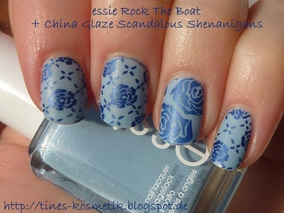 essie Rock The Boat Stamping 2
