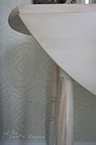 whitewashed technique