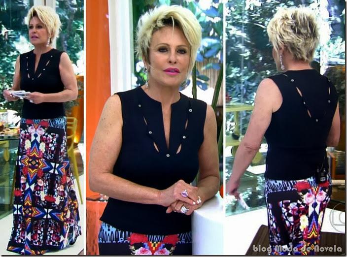moda do programa mais você - ana maria braga dia 29 de janeiro de 2014