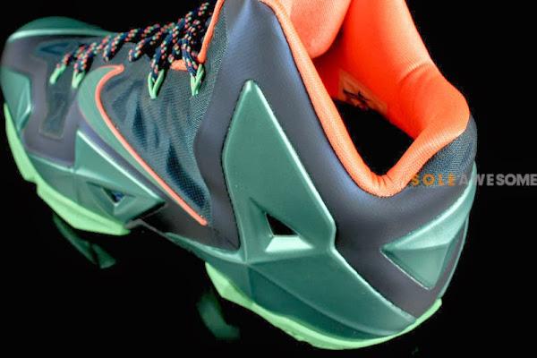Akron vs Miami Nike LeBron XI 8211 New Photos