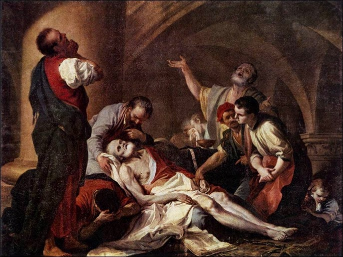 The Death of Socrates by Giambettino Cignaroli a morte de sócrates 1759