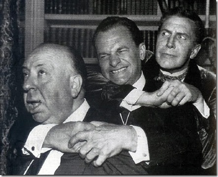 Alfred-Hitchcock-James-Gregory-and-Vincent-Price