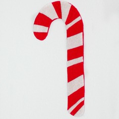 Candy cane finished