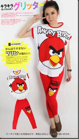 Angry Birds Legging