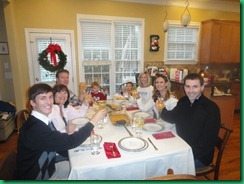 Family Christmas brunch