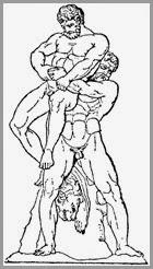 Anteu e Hércules