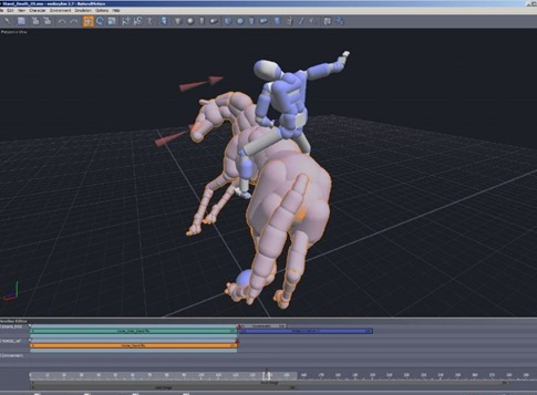 Endorphin LE - animaciones en 3D