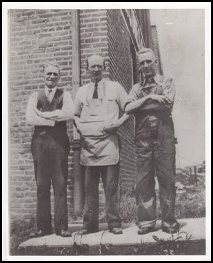 Employees of C. B. Cones & Son Manufacturing in Lynchburg, VA.  John Niehaus is in the center.
