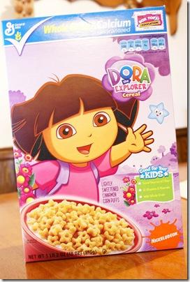 Dora Cereal