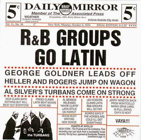 R&B Groups Go Latin - 21 Front