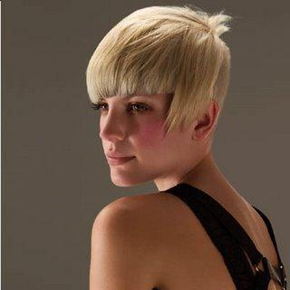 Modern Short Hairstyle for women