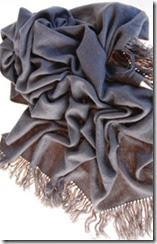 Charcoal Cashmere Stole