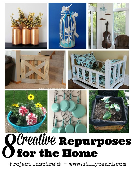 8 Creative Repurposes for the Home - Project Inspired