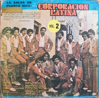 Corporacion Latina  Salsa de Puerto Rico  Front