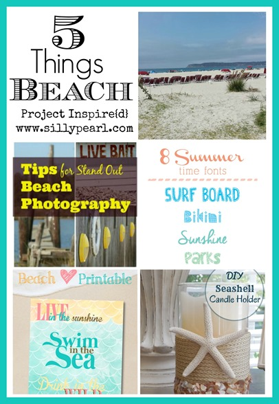 Five Things Beach - Project Inspire{d}