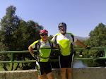 Alberto y Javier en Puente Nueva - Burgohondo (Ávila) Verano 2009