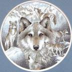 """В архиве - схемы для вышивки крестиком  """"Волки """" - много разных картинок в любых форматах (PDF, JPG, XSD)..."""
