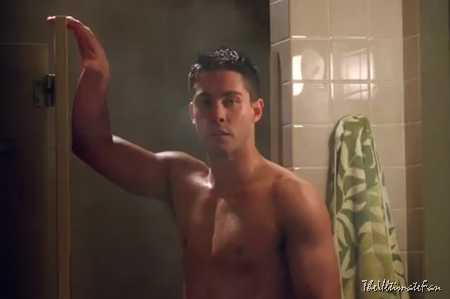 Dean Geyer as Glee's Brody Weston