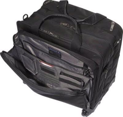 Victorinox Rolling Trevi 4 Wheel 17 Laptop Brief Bag For