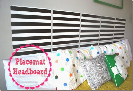 placemat headboard