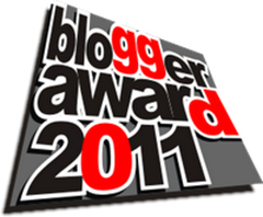 blogger award 2011